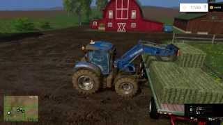 farming simulator 2015 getting ready for the cows