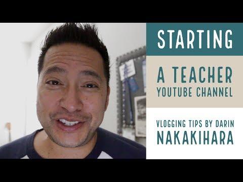 Teacher vlog about technology - Starting a Teacher YouTube Channel Series: Vlogging Tips