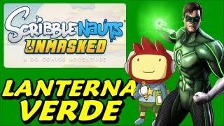 Scribblenauts Unmasked #3 - Lanterna Verde X Sinestro