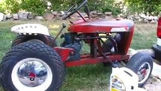Wheel-Horse 1960 Model 400  Gets a new heart-1 9/24/17