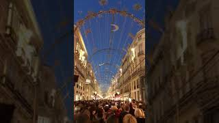 Световое новогоднее шоу на улице 2017 - 2018  Showmust go on отQueen
