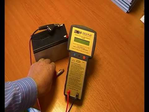 Sealed Lead Acid Sla Battery Tester Youtube