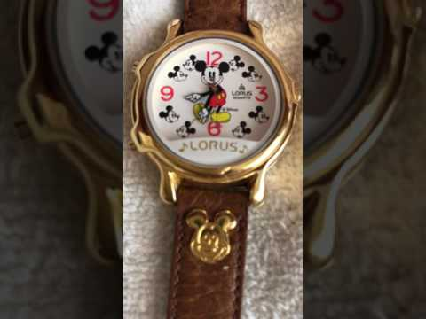 Musical Disney Mickey Mouse Quartz Wrist Watch by Lorus