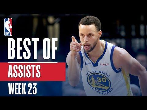NBA's Best Assists | Week 23 | State Farm thumbnail