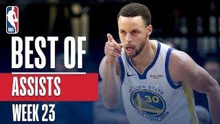 NBA's Best Assists | Week 23 | State Farm