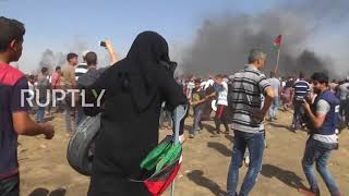 State of Palestine: Protests continue along Gaza border on Naksa Day