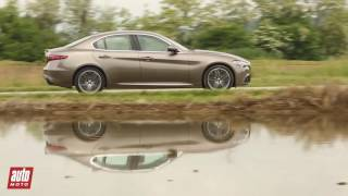 2016 Alfa Romeo Giulia [ESSAI] : le test en vidéo