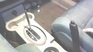 2006 PT Cruiser center Console Removal