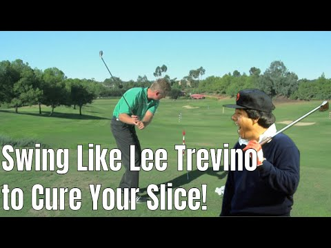 Lee Trevino Golf Drill