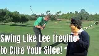 Lee Trevino Golf Drill