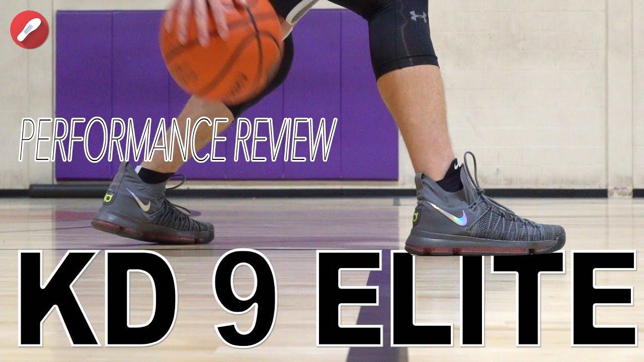 76f50966098 Nike Kd 9 Elite Performance Review! - YouTube