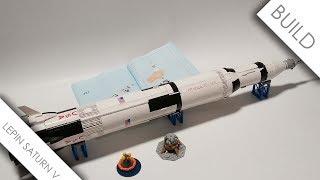 LEPIN 37003 Saturn V Build