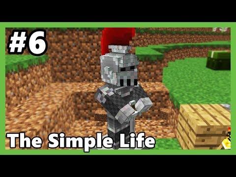 HEYKEL BULDUM!!! - Minecraft: The Simple Life #6