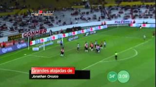 Juéguela - Grandes atajadas de Jonathan Orozco