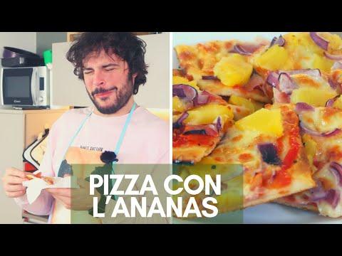 La pizza con l'ananas - CUCINA BUTTATA
