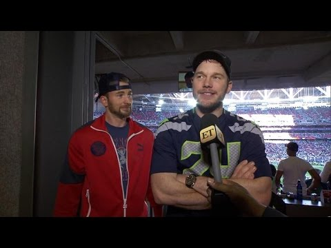 Chris Evans Wins Marvel Hero Super Bowl Showdown