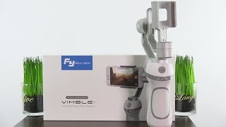 Feiyu Tech 3 axis Smartphone Gimbal Review Vimble C Stabilizer iphone & Android