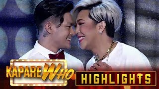 Madlang People feel giddy as Vice and Ion rub noses | It's Showtime KapareWho