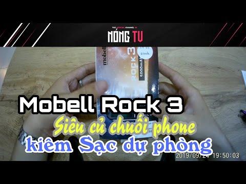 Nóng TV | #Mobell #Rock 3 – Điện thoại kiêm sạc dự phòng cực rẻ ?