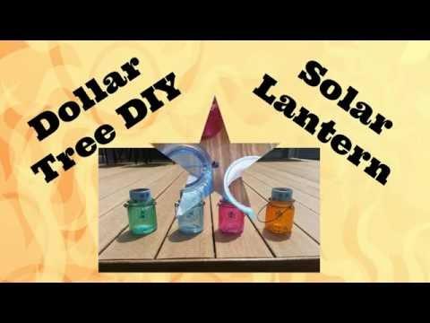 Dollar Tree DIY - Solar Lantern