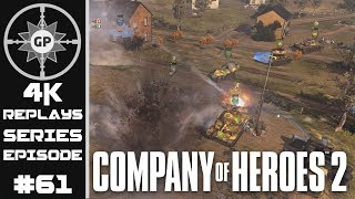 Company of Heroes 2 4K Replays #61 - On the Brink of Collapse