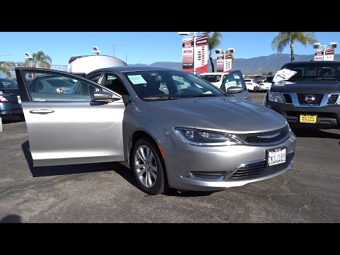 2015 Chrysler 200 San Bernardino, Fontana, Riverside, Palm Springs, Inland Empire, CA P8980R
