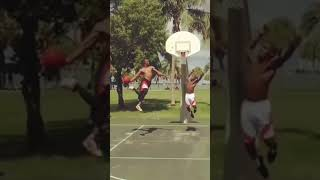 5'5 guy tried to Block My Dunk