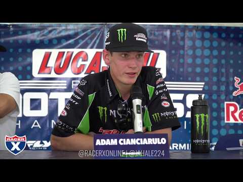 Racer X Films: Budds Creek 2017 250 Press Conference