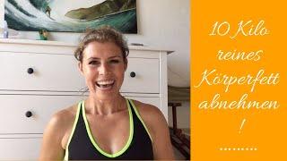 Schnell abnehmen: 10 Kilo reines Körperfett! Video