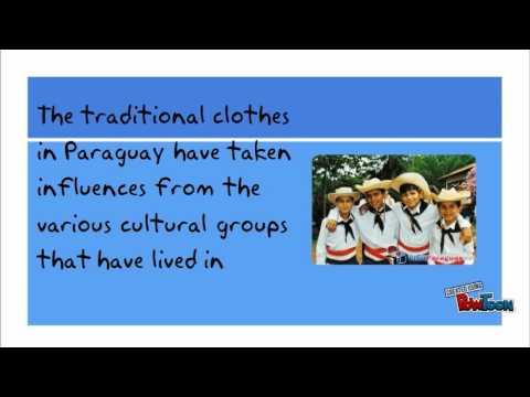 Paraguay National Dress