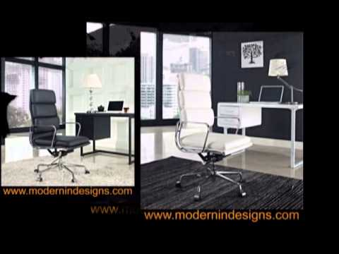 eames aluminum group softpad executive office chair replica reproduction sale