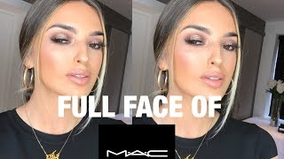 FULL FACE OF MAC COSMETICS / TESTING MAC MAKEUP!