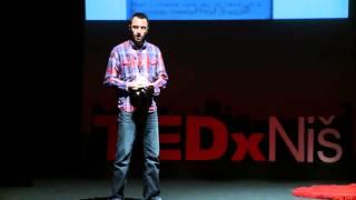 Pronadji i pusti svoj glas | Nebojša Radivojević | TEDxNiš