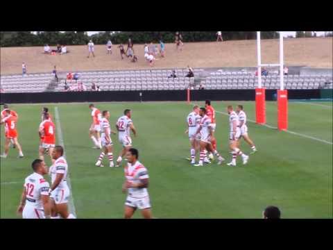 St George Illawarra Dragons v Illawarra Cutters/ Mudgee Dragons Trial Match 7/2/14