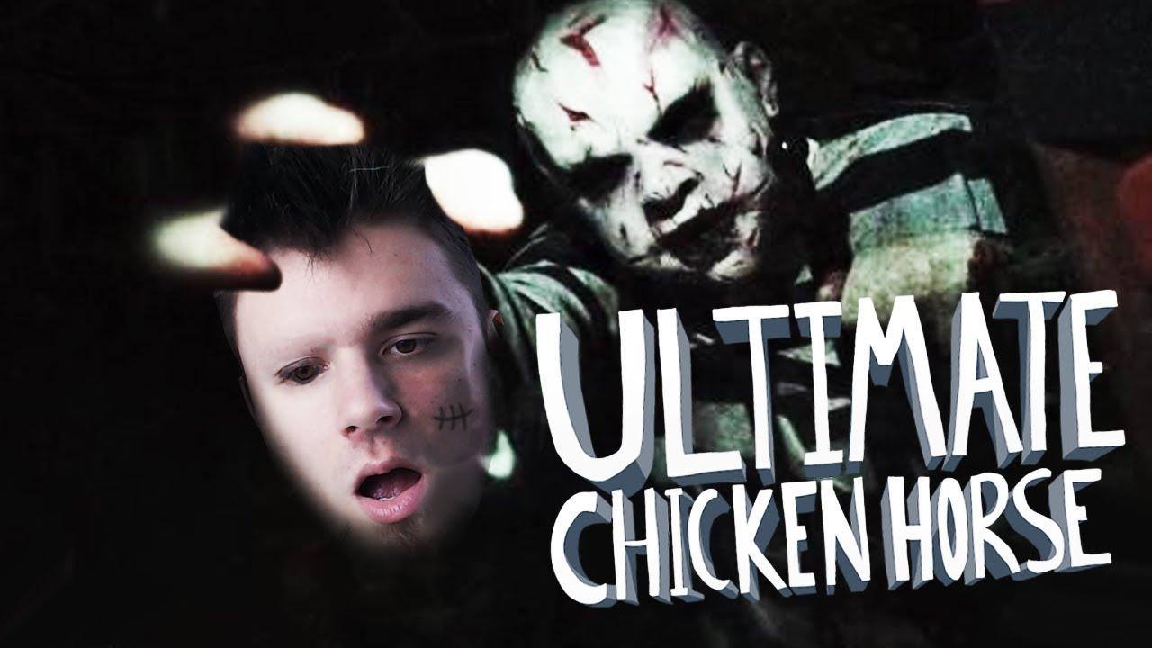 PRZYGODA W OPUSZCZONYM DOMU STRACHÓW!   Ultimate Chicken Horse [#75] (W: Plaga, Diabeuu, Dobrodziej)