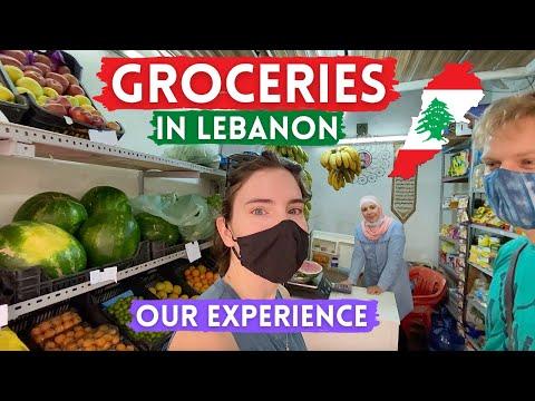 Grocery Shopping in Beirut Lebanon 2021 🇱🇧