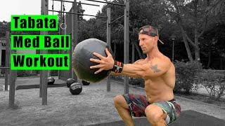Tabata Med Ball Workout (w/ Italo Naibo)