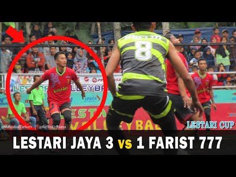 Penampilan Ciamik Bayu Si Tampan Raja Back Attack | Lestari Jaya 3-1 Farist 777 | Lestari Cup