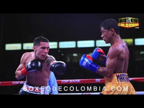 Miguel Marriaga vs Oscar Valdez  post fight interview