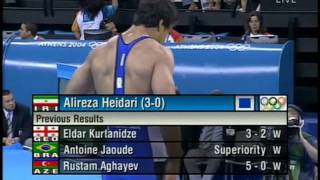 Ibragimov, Magomed (UZB) vs Heydari, Alireza (IRI)