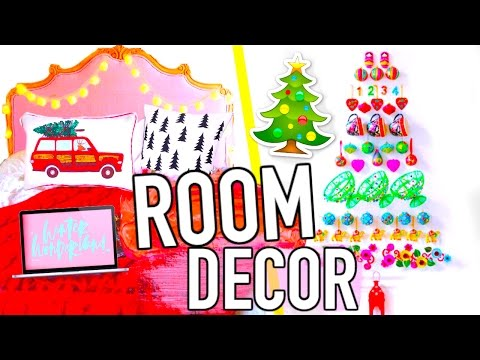 DIY Holiday Room Decor! Easy Christmas DIYs!