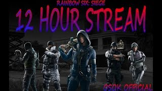 12 hours of Rainbow Six: Siege?!? Can we make it????