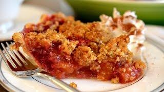 Cranberry Apricot Crumble Pie  Thanksgiving