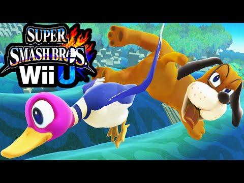 New Super Smash Bros Wii U Update