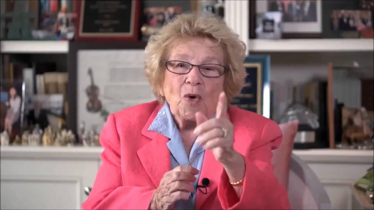 Dr Ruth Westheimer 2016