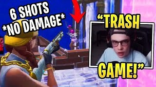 Liquid Poach Discovers a GAME BREAKING Bug With New Shotgun in Fortnite!