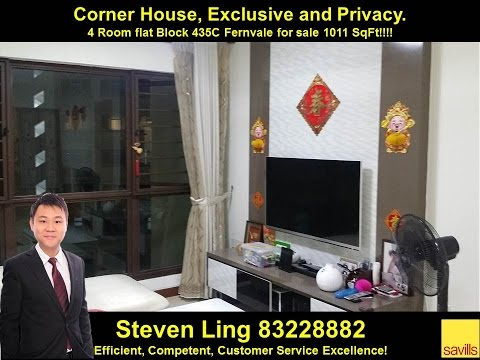 435c fernvale 4 room flat for sale