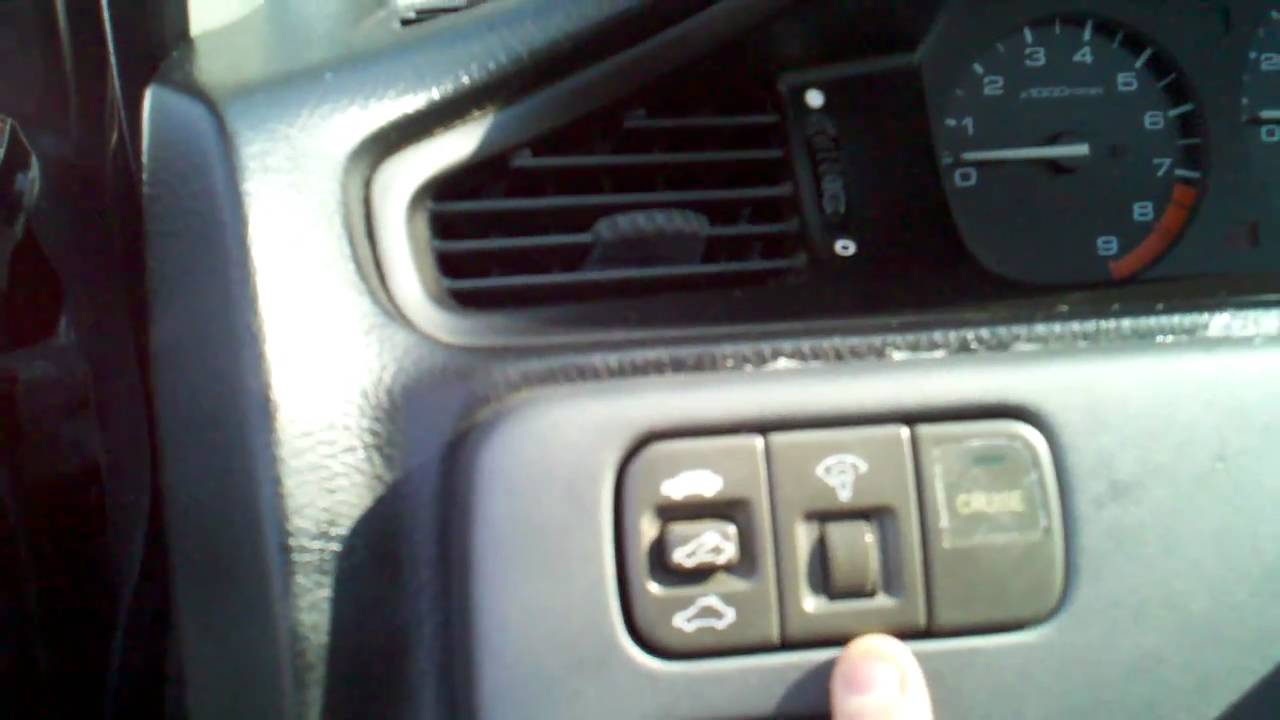medium resolution of how to replace the center panel on a 1995 honda civic ex