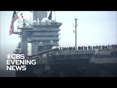 USS Abraham Lincoln returns home after months at sea