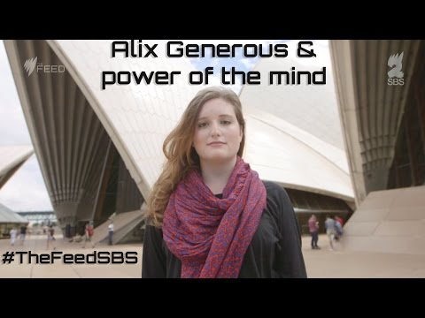 Alix Generous and the power of the mind - The Feed - YouTube